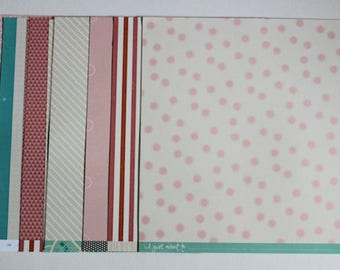 "American Craft ""Shimelle"" 12"" x 12"" Paper Collection"