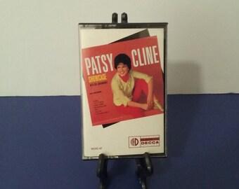 Patsy Cline - Showcase - Circa 1988 - Cassette Tape