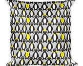 Penguin Square Pillow - Penguin Pillow - Penguin Party Pillow - Fun Penguin Pillow