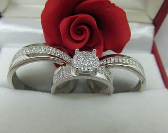 Anillos de matrimonio en plata 925