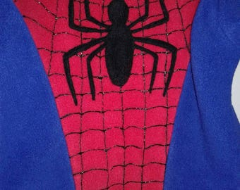 Spider man inspired costume, spidergirl costume