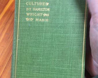 Vintage Book Essays on Work And Culture 1898