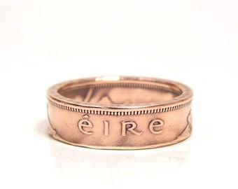 Size 9 Lucky Irish Coin Ring
