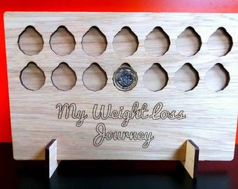 Weight loss plaque-slimming world-weight watchers-saving weight loss-personalised-wedding weight loss-new year weightloss-detox-health