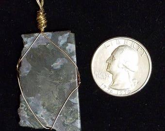 Gabbro Sterling Silver Pendant