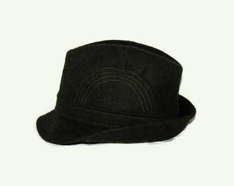 70's Fredrikson fedora hat, Made in Finland