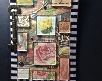 Art Card, Collage, Home Decor, Mixed Media