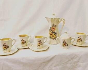 Wildflower Tea Set