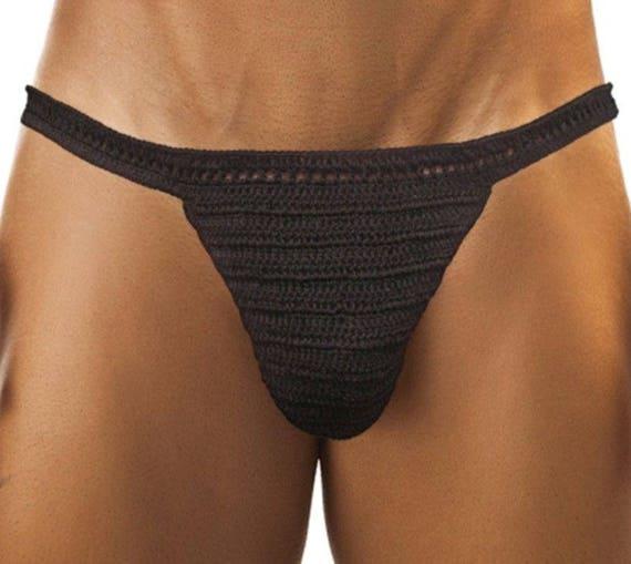Men Thong, hot bikini Men sexy micro thong, Men's underwear, Crochet, Erotic, Homoerotic, men thong sexy g string