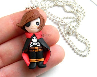 Captain Harlock inspired Necklace