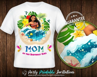 Moana birthday shirt, Moana birthday shirt mom, Moana birthday shirt iron on, Moana birthday shirt download, Moana birthday shirt printable