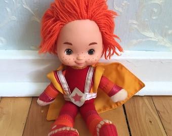 Vintage 1980s Rainbow Brite Red Butler Doll!
