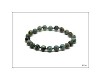 Gemstone Bracelet - African Turquoise / BGTA01