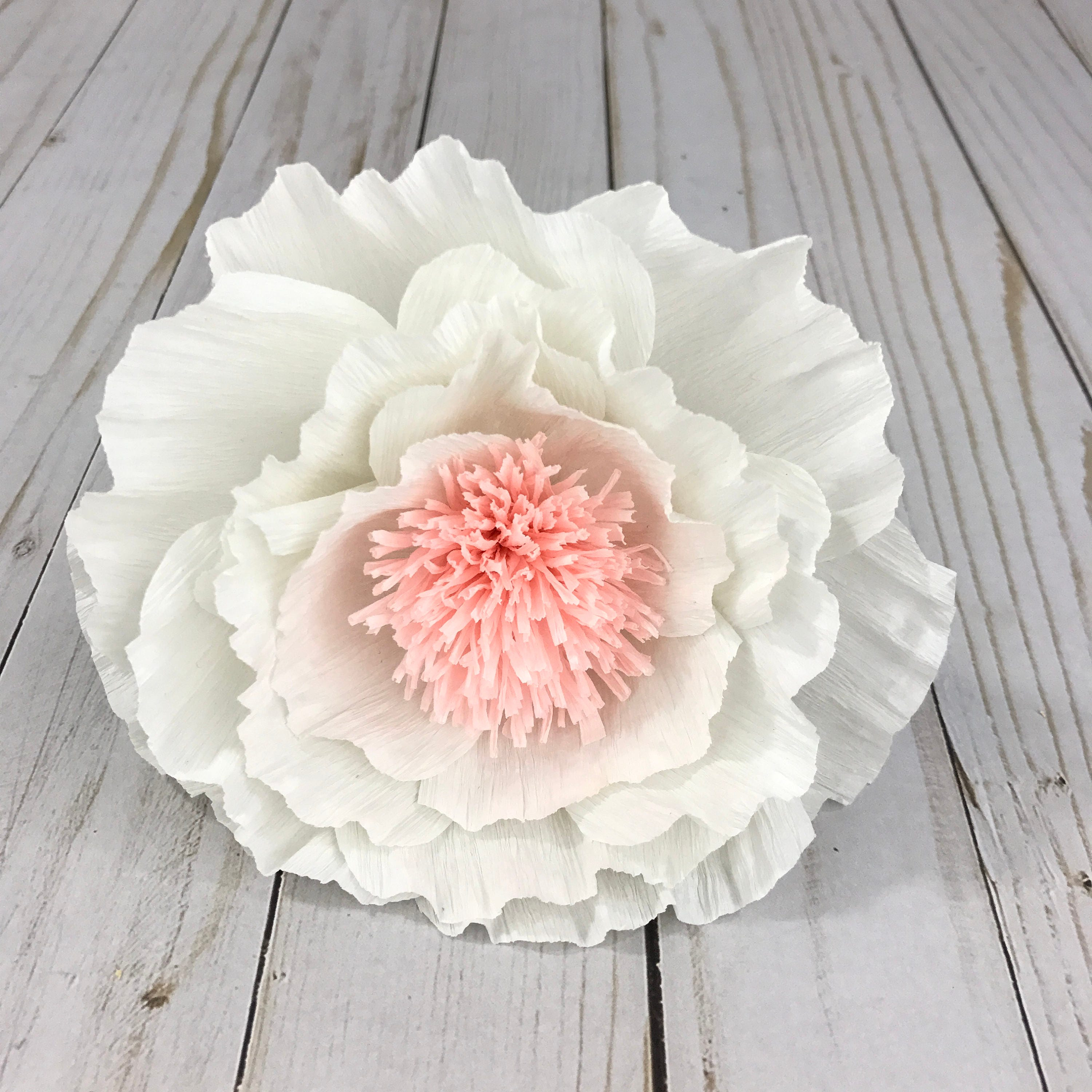 Paper flowers peony paper peony flower wall decor crepe paper flowers peony paper peony flower wall decor crepe paper peony mightylinksfo Gallery