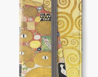 Folio Wallet Case for iPhone 8 Plus, iPhone 8, iPhone 7, iPhone 6 Plus, iPhone SE, iPhone 6, iPhone 5s - Fulfilment by Gustav Klimt