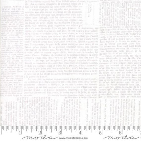 """Moda Wide Back 1113212 Modern Compositions in White (108"""" / 270cm wide) - 25 cm increment"""