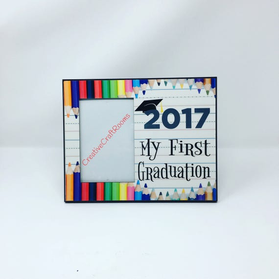 My First Graduation Preschool Photo Picture Frame