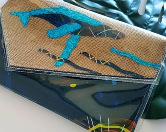 Humpback Whale Large Envelope Clutch
