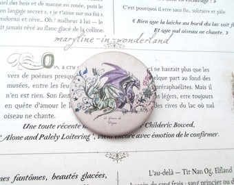 "badge pin ""the book of dragons"" pine"