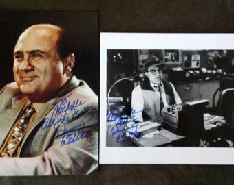 Authentic Genuine~DANNY DEVITO 2 Hand Signed Autographed Photos  Made out to My Daughter
