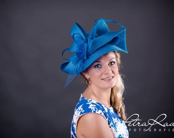 U71 hat Royal Ascot hat Ballhut Kentucky Derby has horse racing couture Millinery Sinamay has wedding fascination