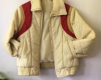 Groovy Vintage 70s Bomber Jacket