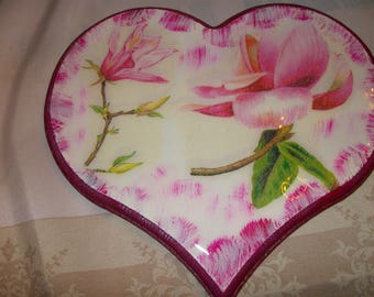 Heart trivet for a cool decoration