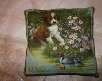 Small pillows dog 13 cm x 13 cm. NO. 1.