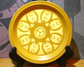 Vintage 1970's Bread Plate stoneware made Japan