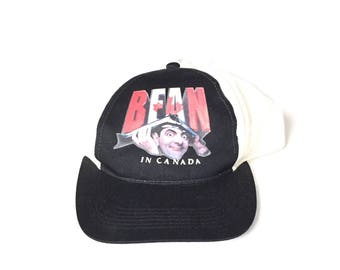 Vintage Mr. Bean Comedy Snapback Strapback hat Children's kids youth Adjustable Twill One Size Fits All Adult Unisex Basic Logo Nwt Nos ds