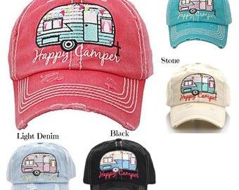 Happy Camper Cap