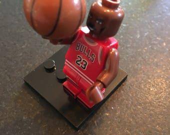 Michael Jordan - Chicago Bulls - NBA Basketball - Lego Compatible / Custom Minifigure