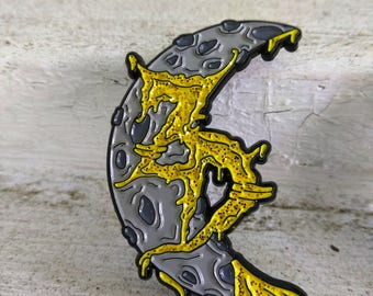 Zeds Dead - Dab Moon - V.2  Release - Limited Edition - Hatpin