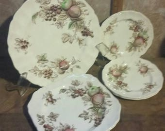 Johnson Brothers Harvest Time Brown Dishes