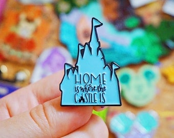 Home Is Where The Castle Is Enamel Pin