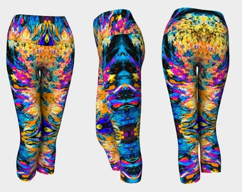 04700 Yoga Capri: Tree Photography, Yoga Leggings, Yoga Tights, Running Tights, Yoga Pants, Leggings