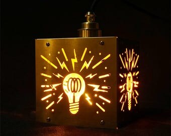 Sparkling Brass Lamp
