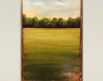 Reclaimed wood wall art,wood art,wood wall art,barn wood art,landscape clouds,wood art, abstract,Wall art,abstract painting,farmhouse