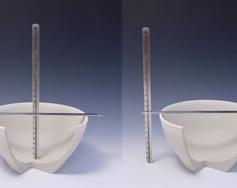 Stainless Steel Pottery Measuring Tools (© Copy right #TXu 1-961-453) by Master Potter HsinChuen Lin 林新春