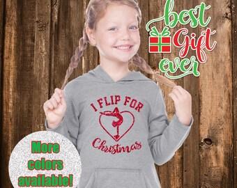 I Flip For Christmas Hoodie