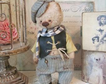 Teddy bear Yosik, artist teddy bear, teddy bear