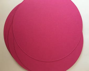 Circles, Cut out circle, Cardstock, Paper, scrap booking, Card Stock, Tags, Confetti, Blank, JUMBO - Pack of 25, 50, 75, 100 or 200
