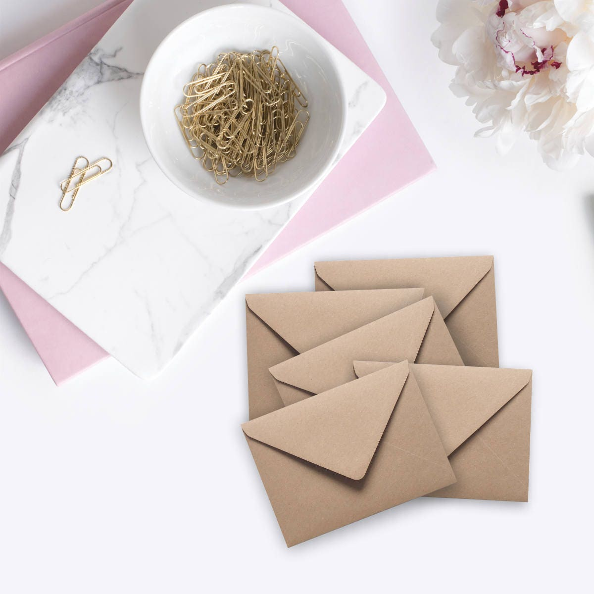 100 Mini Seed Envelopes Gift Card Envelopes Bulk Kraft recycled ...