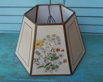 Cottage Chic Vintage Paper Lampshade!