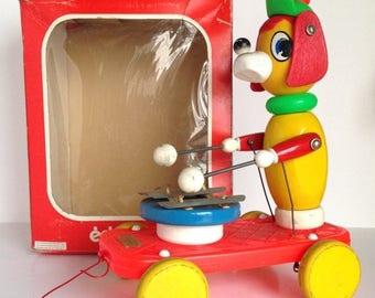 ON SALE Vintage EDUCALUX Pull Toy