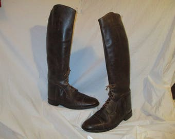 Men's English equestrian riding boots