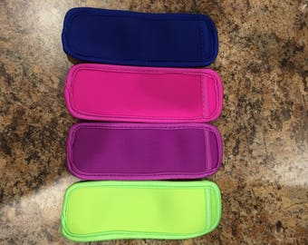 Blank Popsicle Holders - Neoprene - 4 colors to choose!