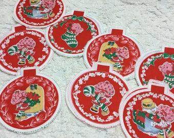 Vintage Strawberry Shortcake Do-It-Yourself Ornaments