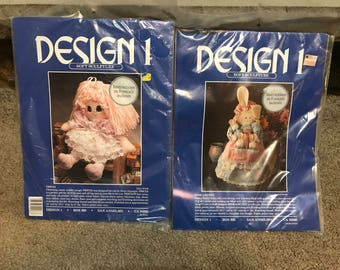 Design1 Hide a Bunny and Tricia Soft Sculpture Kits