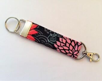 Key Fob, Key Chain, Snap Hook Key Fob, Hawaiian Key Fob - Made in Maui